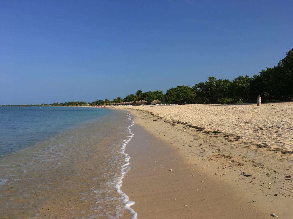 Ancon beach trinidad
