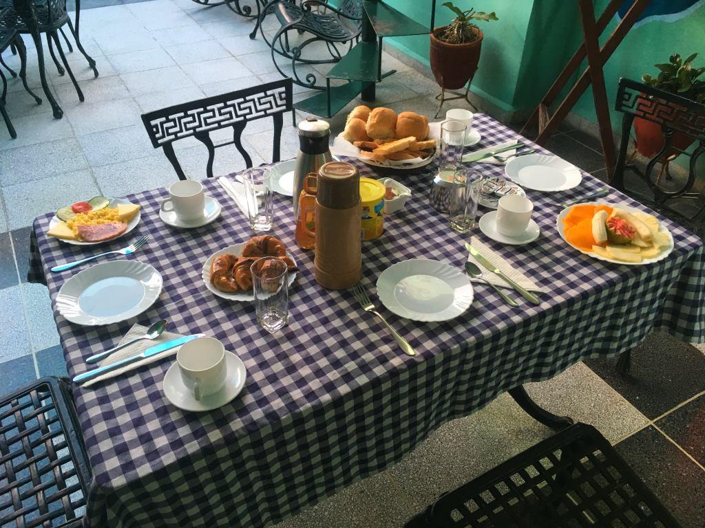 breakfast casa particular