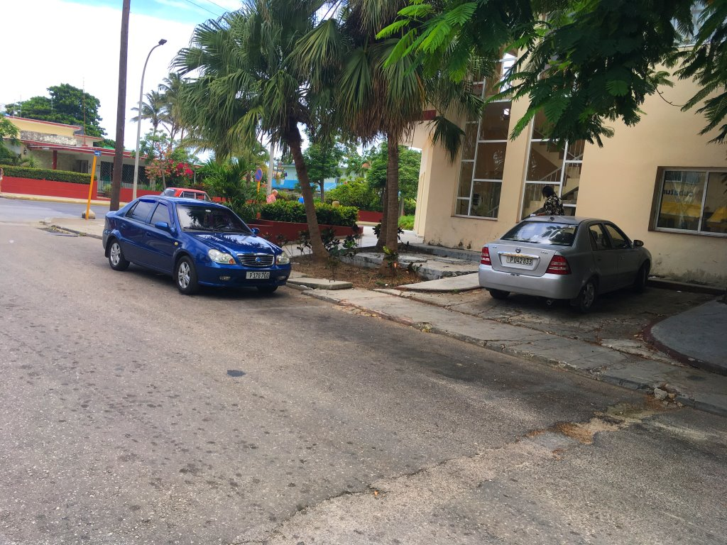 geely chinese car cuba
