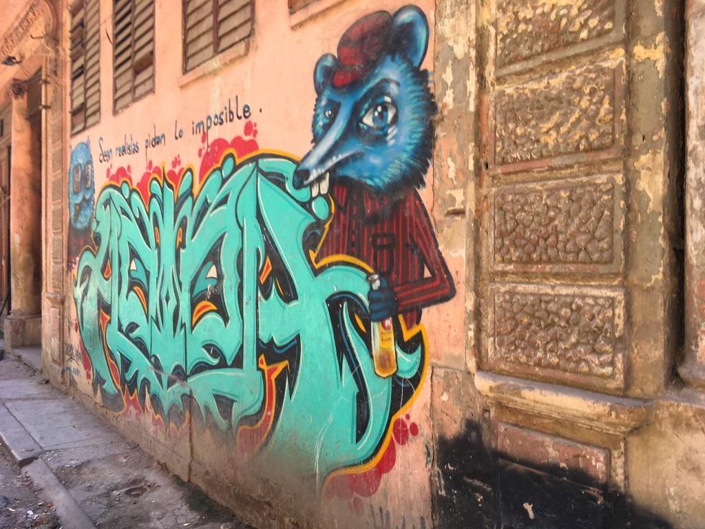 Banksy Havana Cuba