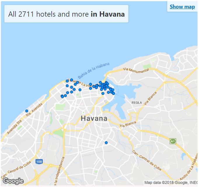 Hotels havana cuba